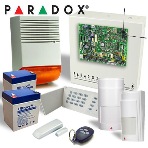Kit Alarma Wireless Cu Sirena De Exterior Paradox