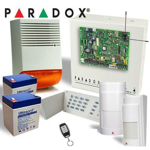 Imagine Kit Alarma Wireless Cu Sirena De Exterior Paradox Mg5000-ext-f6