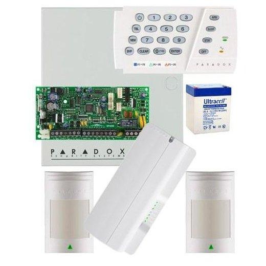 Kit Centrala Alarma Sp4000 Paradox Kit S4-2p
