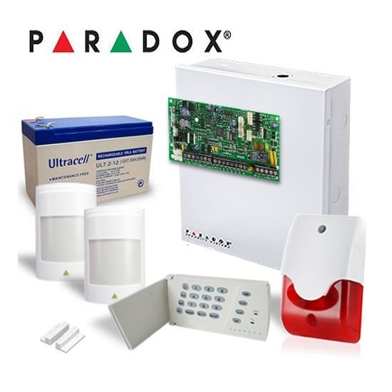 Kit Alarma Paradox Kit Sp4000 2p-int