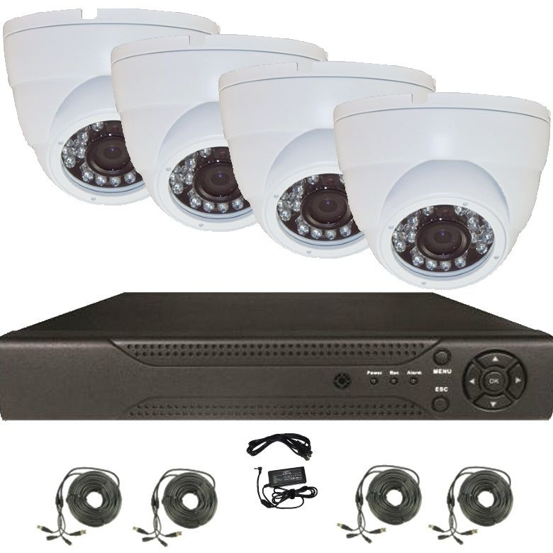 Kit Ahd Guard View 720p Cu 4 Camere