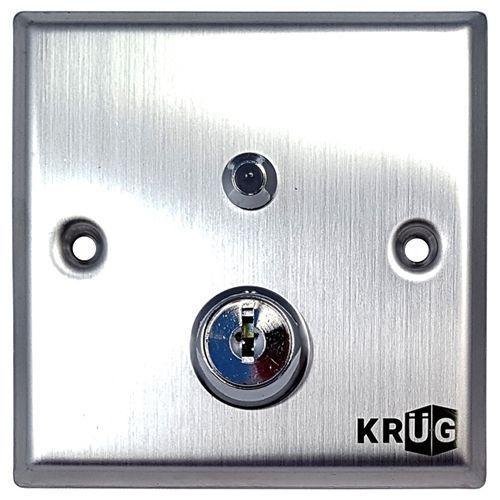 Accesoriu control acces KrugTechnik Buton iesire cu cheie KKS86KLC