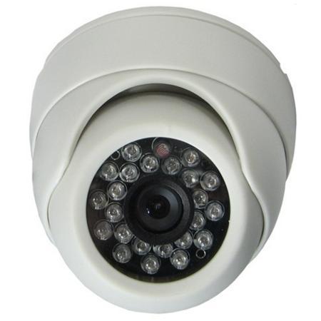 Camera Dome De Interior 1000tvl Cu Ir Kmw Km-110ex