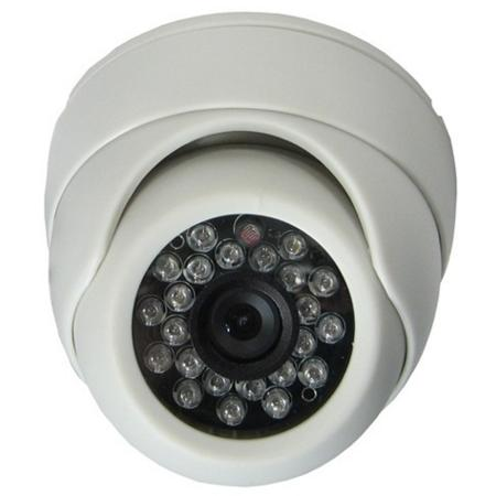 Camera Dome De Interior 800tvl Cu Ir Kmw Km-110hw