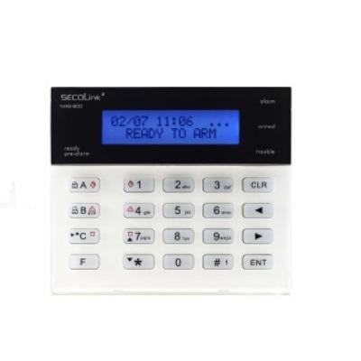 Tastatura LCD 2 randuri x 16 caractere termometru incorporat Secolink KM20BT