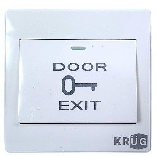 Accesoriu control acces KrugTechnik Buton iesire KPBM6 Plastic Cutie montaj inclusa