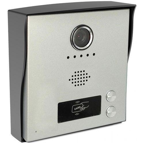 Post exterior videointerfon KrugTechnik KR-H2 2 butoane 2 fire
