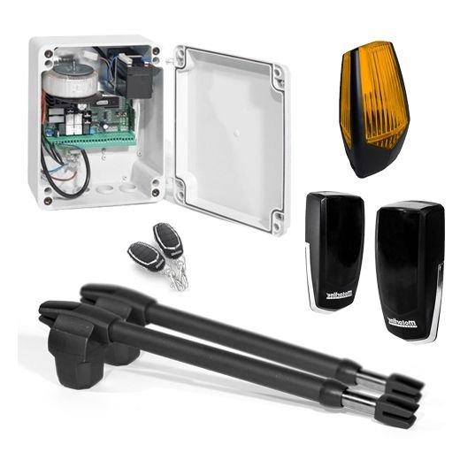 Kit automatizare poarta batanta Motorline LINCE400-24V-KIT 2x3m uz intensiv + lampa