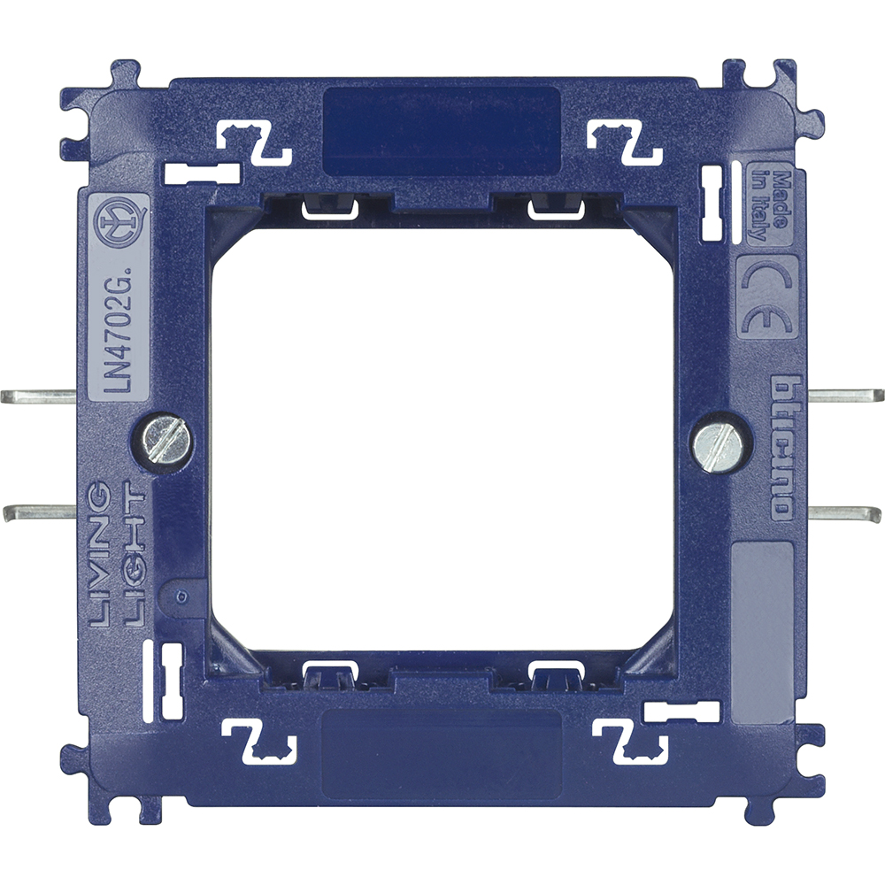 Rama suport 2 module cu gheare Living Light Bticino LN4702G