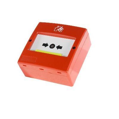 Buton De Panica Adresabil Cu Resetare Detnov Mad-450