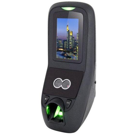 Terminal De Control Acces Stand-alone Cu Recunoastere Faciala. Amprenta Si Cod Pin Zkteco Mba-7