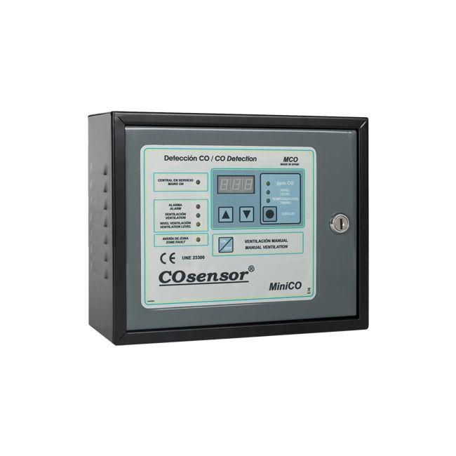 Centrala conventionala Cofem MCO110 detectie CO si NO2 o zona maxim 10 detectori
