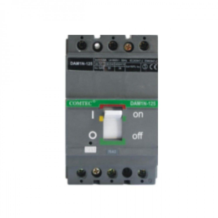 Intrerupator automat MCCB 3P COM-BB N125/100A 35kA Comtec MF0001-22169