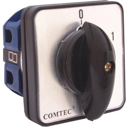 Comutator cu came 0-1 2P 1 etaj 25A Comtec MF0002-11130