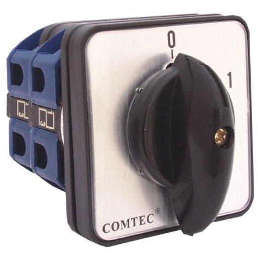 Comutator cu came 0-1 3P 2 etaje 63A Comtec MF0002-11360