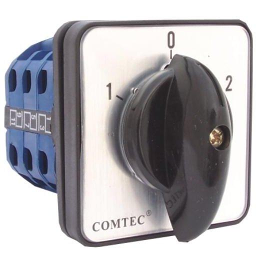 Comutator cu came 1-0-2 3P 3 etaje 160A Comtec MF0002-11780
