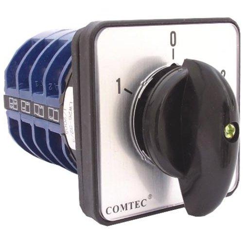 Comutator cu came 1-0-2 4P 4 etaje 25A Comtec MF0002-11930