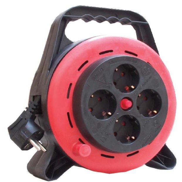 Prelungitor tambur tip ruleta 4P 10m cu protectie termica Comtec MF0012-03674
