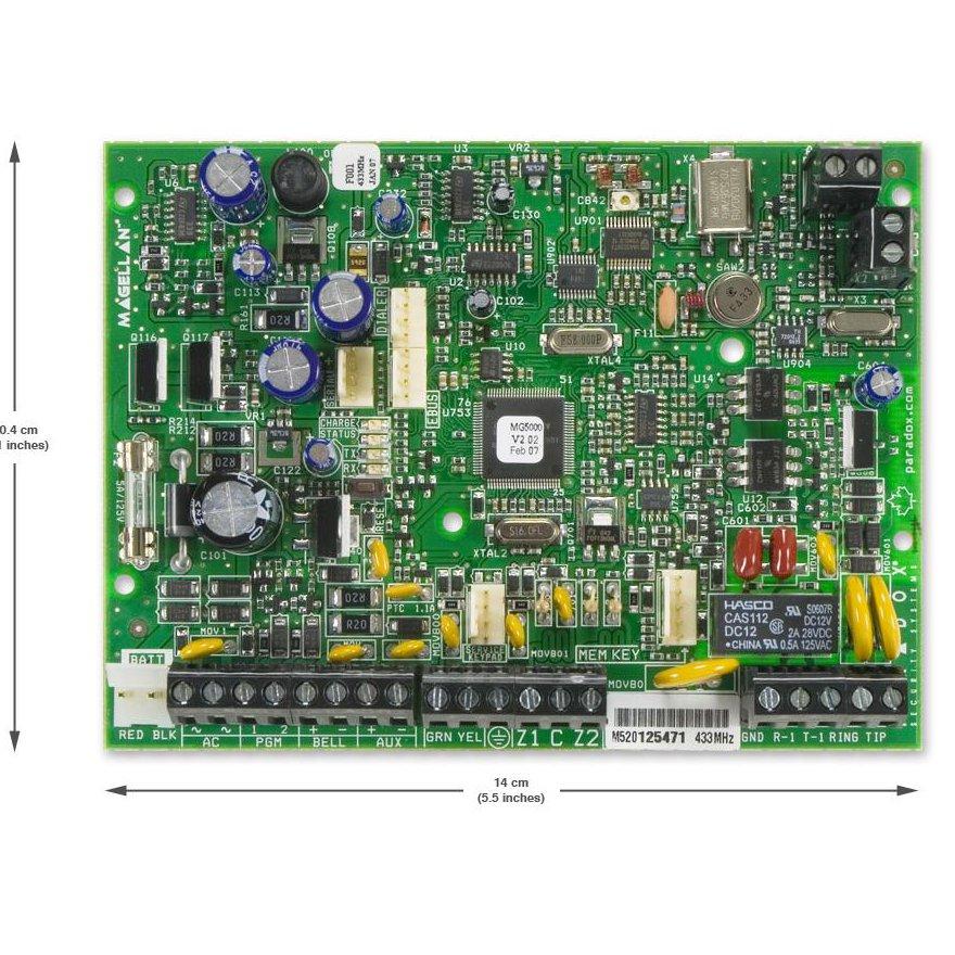 Centrala Alarma Wireless Magellan 32 Zone Fara Cutie Metalica Paradox Mg5000