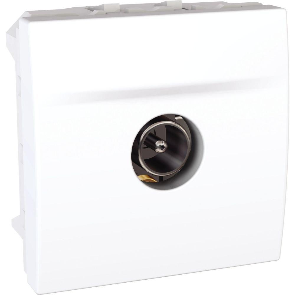 Priza tv tata de capat 2 module Schneider Unica MGU3.464.18