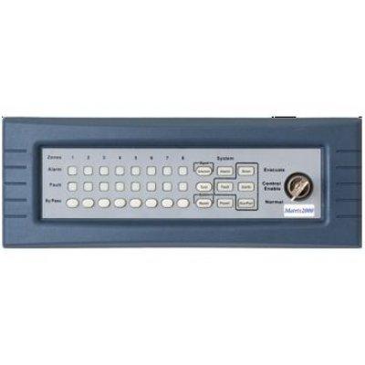 Tastatura 8 zone MKP-8K cu comutator cu cheie