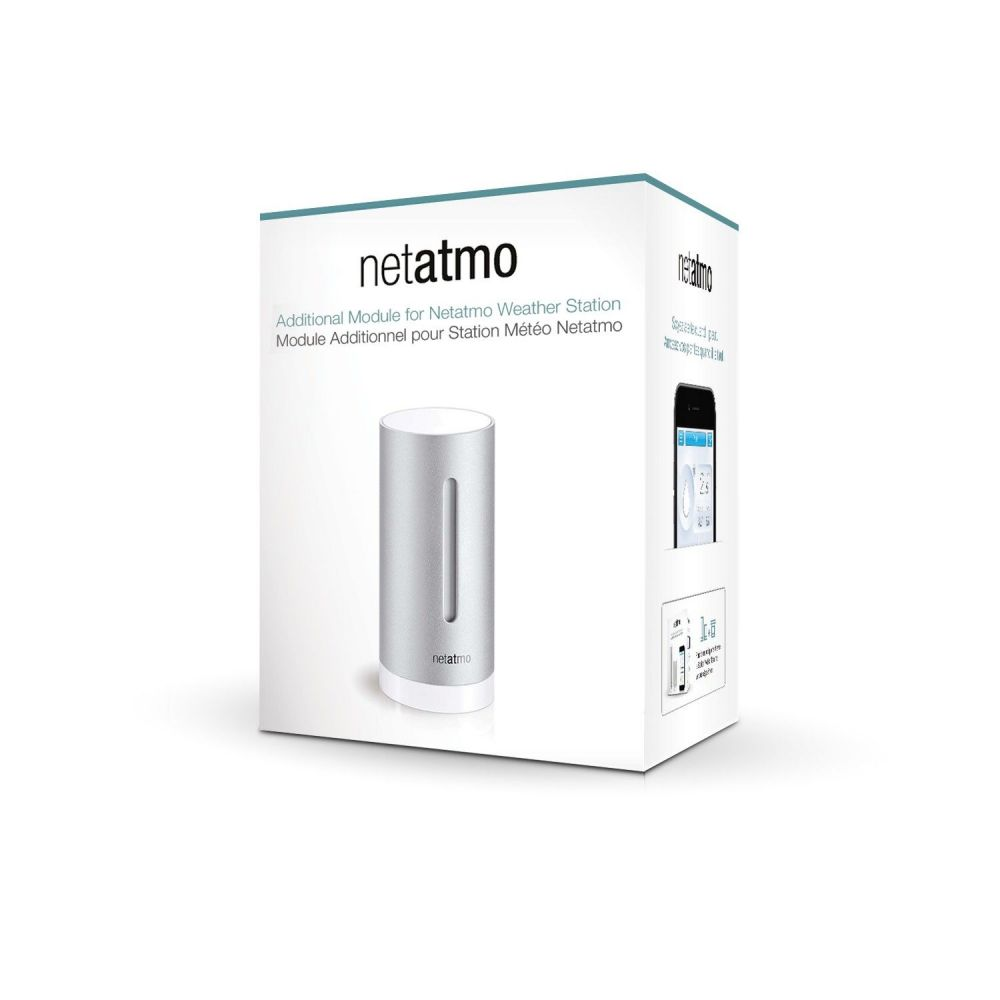 Modul interior aditional pentru Statia meteo Netatmo Wireless