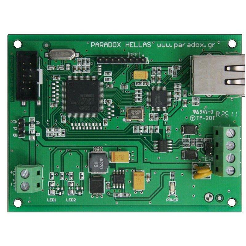 Modul De Comunicatie Ethernet Si Rs485 Paradox Mrtcp/ip