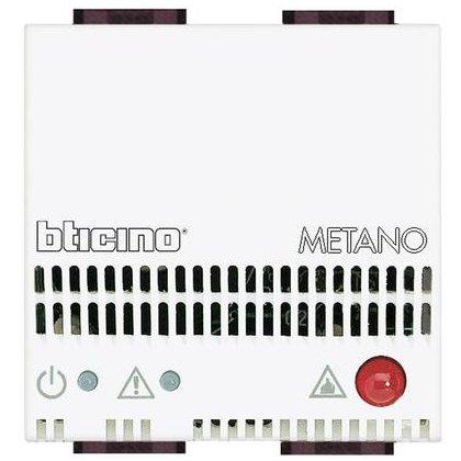 Detector de gaz 12V Ac/Dc 2 module Living Light Bticino N4511/12