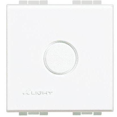 Tasta falsa perforata 2 module Living Light Bticino N4951