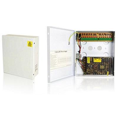 Ansamblu format din cutie metalica + sursa in comutatie 10 A/12V NAV-S10/9C-B