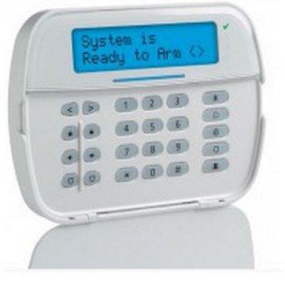 Tastatura LCD cablata 32 caractere alfanumerice 128 de zone DSC NEO-LCD