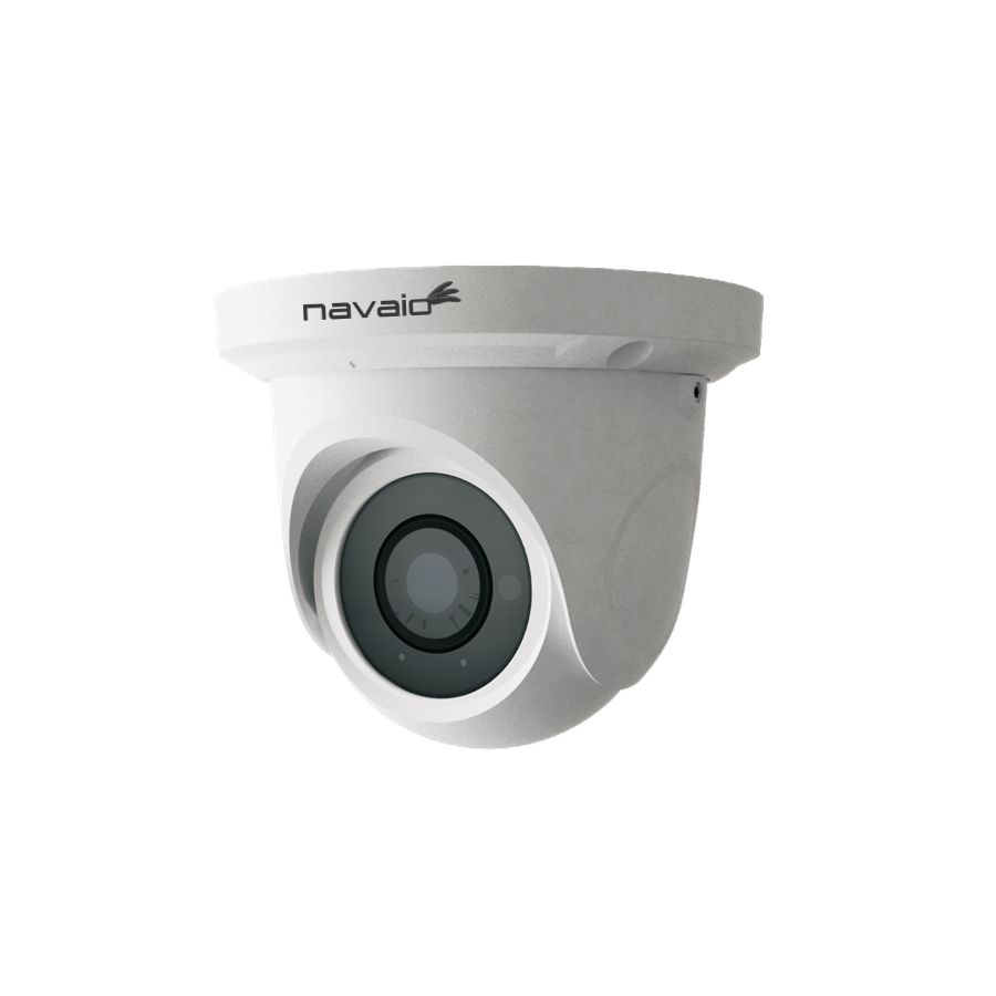 Camera IP dome Navaio NGC-7221F de exterior 2MP 3.6mm intrare microfon IR 20m IP66 ONVIF PoE