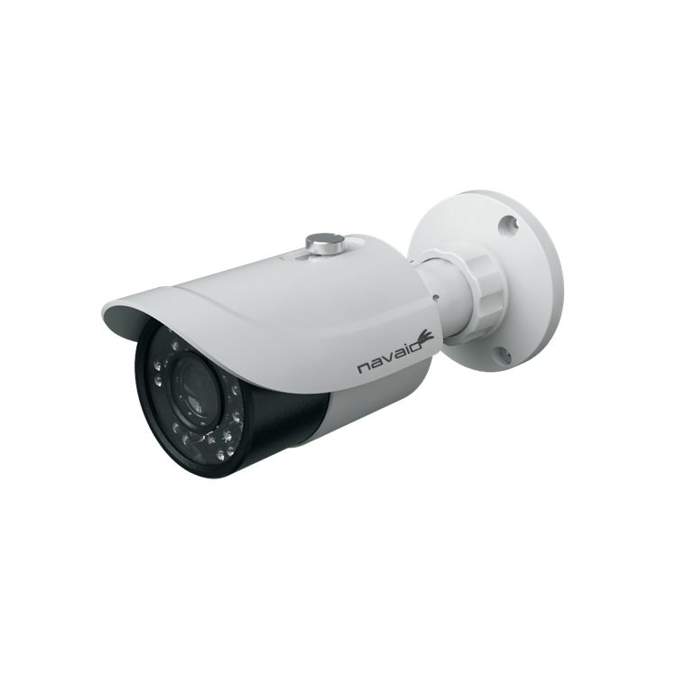 Camera IP bullet Navaio NGC-7325VS de exterior 2MP varifocala 2.8-12mm IR 30m IP66 ONVIF PoE