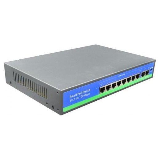 Switch 8 porturi PoE NPS0820FBL 30W pe port maxim 150W total