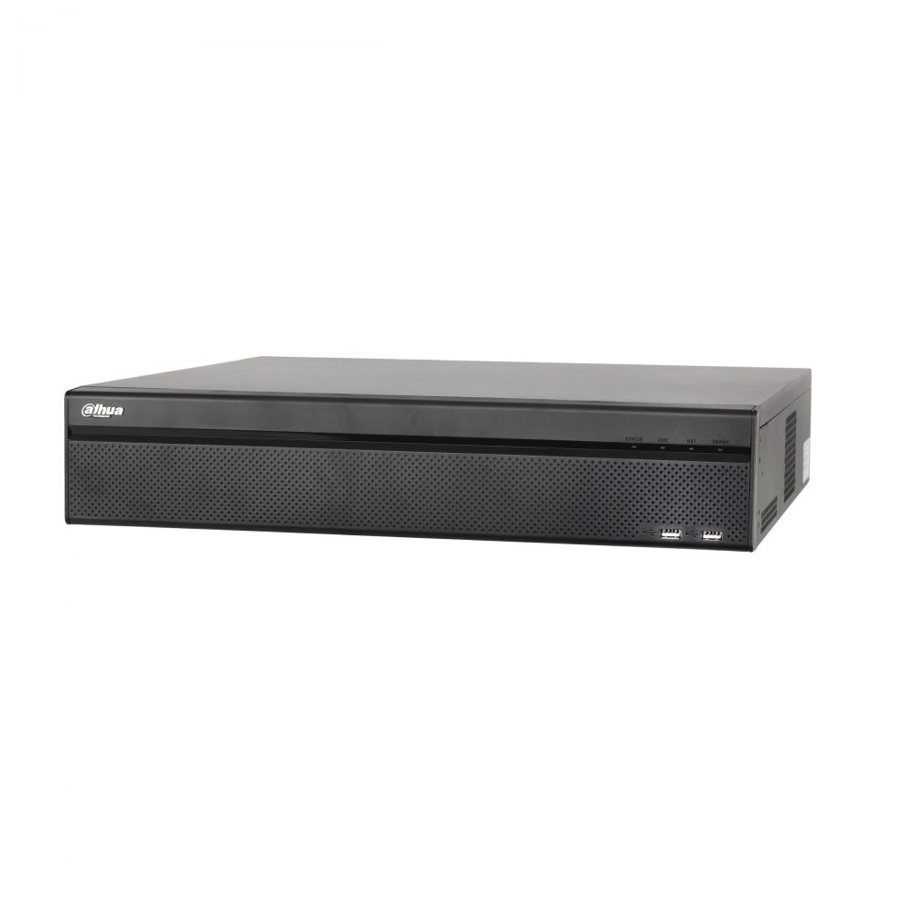 NVR 32 canale Dahua NVR608-32-4KS2 8xSATA ANR functii IVS HDMI 4K 16 intrari alarma ONVIF
