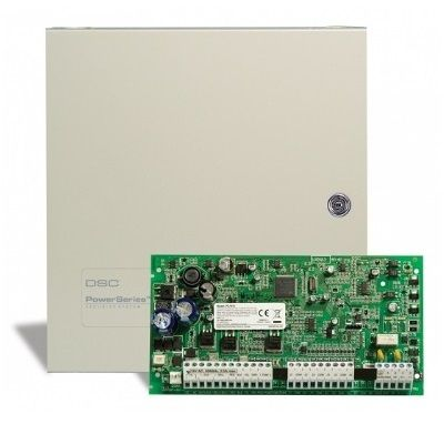 Centrala PC1616 14 zone + 1 zona pe tastatura DSC PC 1616-E LCD