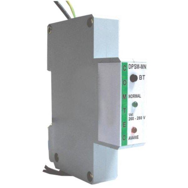 Dispozitiv monofazat de protectie la supratensiune cu monitorizarea nulului DPSM-MN Comtec PF0019-09511