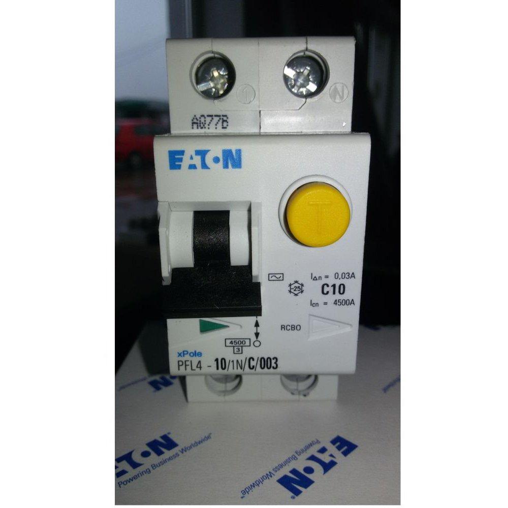 Diferential 10A 1P+N Eaton PFL4-10/1N/C/0 03