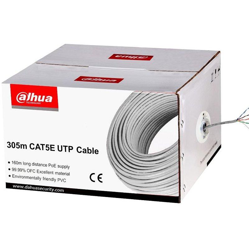Cablu UTP cupru Dahua PFM920I-5EUN 305m alimentare PoE maxim 160m