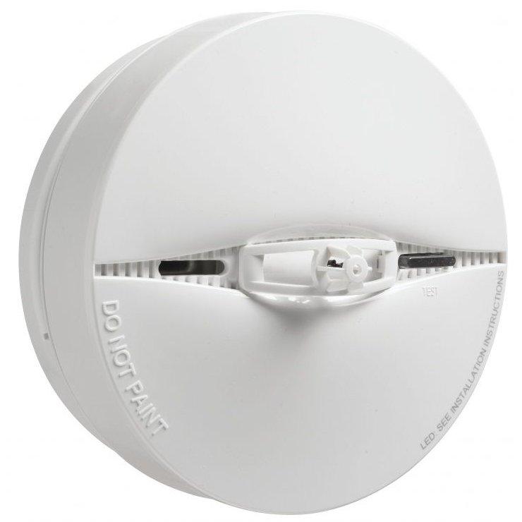 Detector De Fum Fotoelectric Cu Senzor De Temperatura Incorporat Wireless Dsc Pg-8916