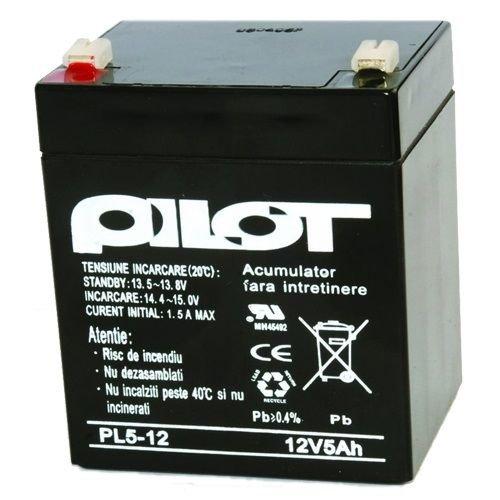 Acumulator Pilot 5 Ah/12v Pilot Pl 5 Ah