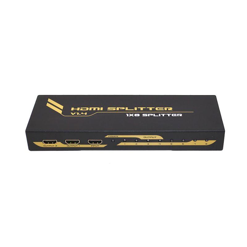 Spliter Hdmi 1.4 Premium 4kx2k Cu 8 Porturi Hdcp 1.3 Pni-8hdmip