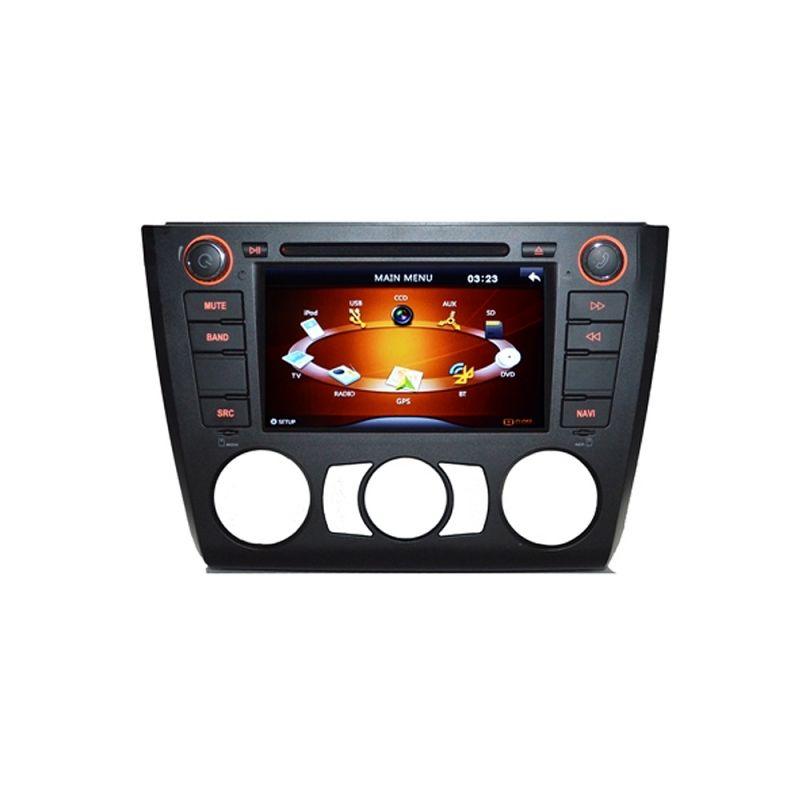 Sistem De Navigatie Dvd + Tv Analogic Pt Bmw E81 E82 E87 E88 Seria 1 Model Pni 9205 Clima Manuala