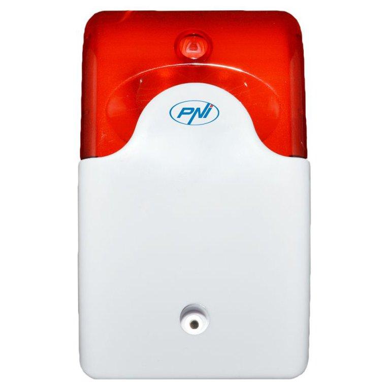 Sirena De Interior Wireless Pni A014 Pentru Sistem De Detectie La Efractie Compatibil Cu Pni Pg200 2