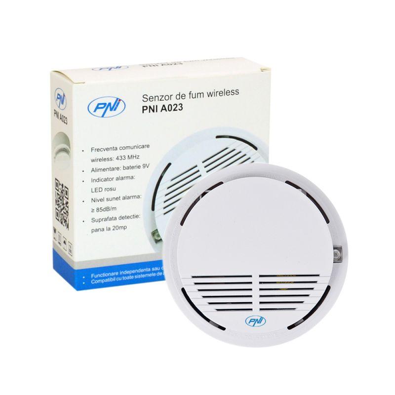 Senzor De Fum Wireless Pni A023 Pni-a023