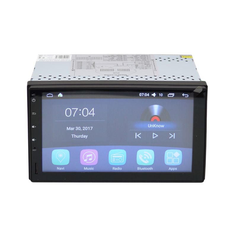 Multimedia Player Auto Pni A8010 Hd Cu Android 5.1.1 Bluetooth Wifi Montaj 2din Fara Unitate Optica Pni-a8010