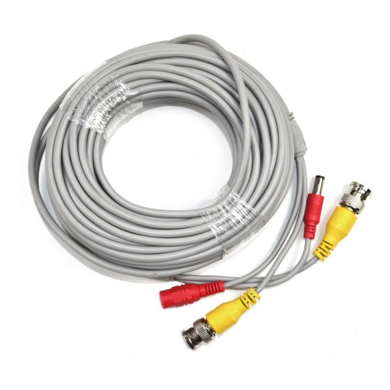 Cablu Video Si Alimentare Pni Cctv 18m Pentru Camera De Supraveghere 18m