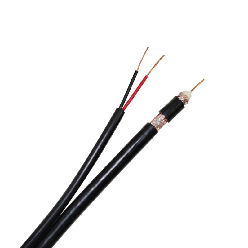 Cablu Video Si Alimentare Pni Cctv-b 200m Pentru Camera De Supraveghere La 1 Metru