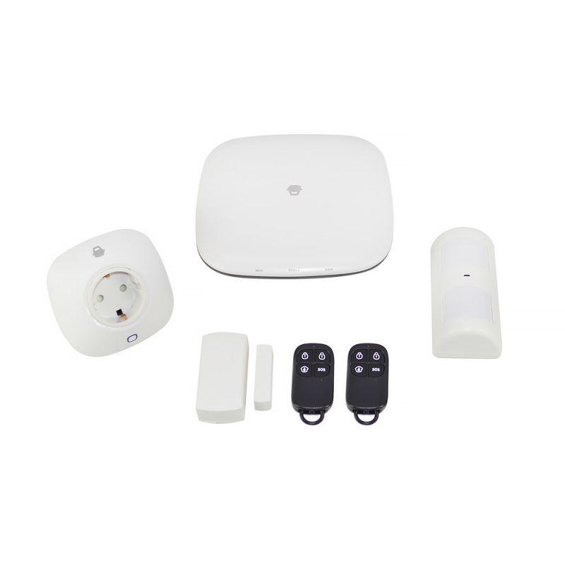 Sistem De Alarma Wireless Pni Smarthome H4 Comunicator Gsm Wifi Si Gprs Pni-chuanh4