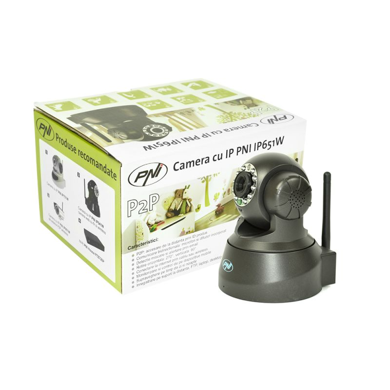 Camera Ip Wireless Pni Ip651w P2p Ptz